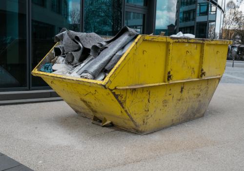 Container - Entsorgung